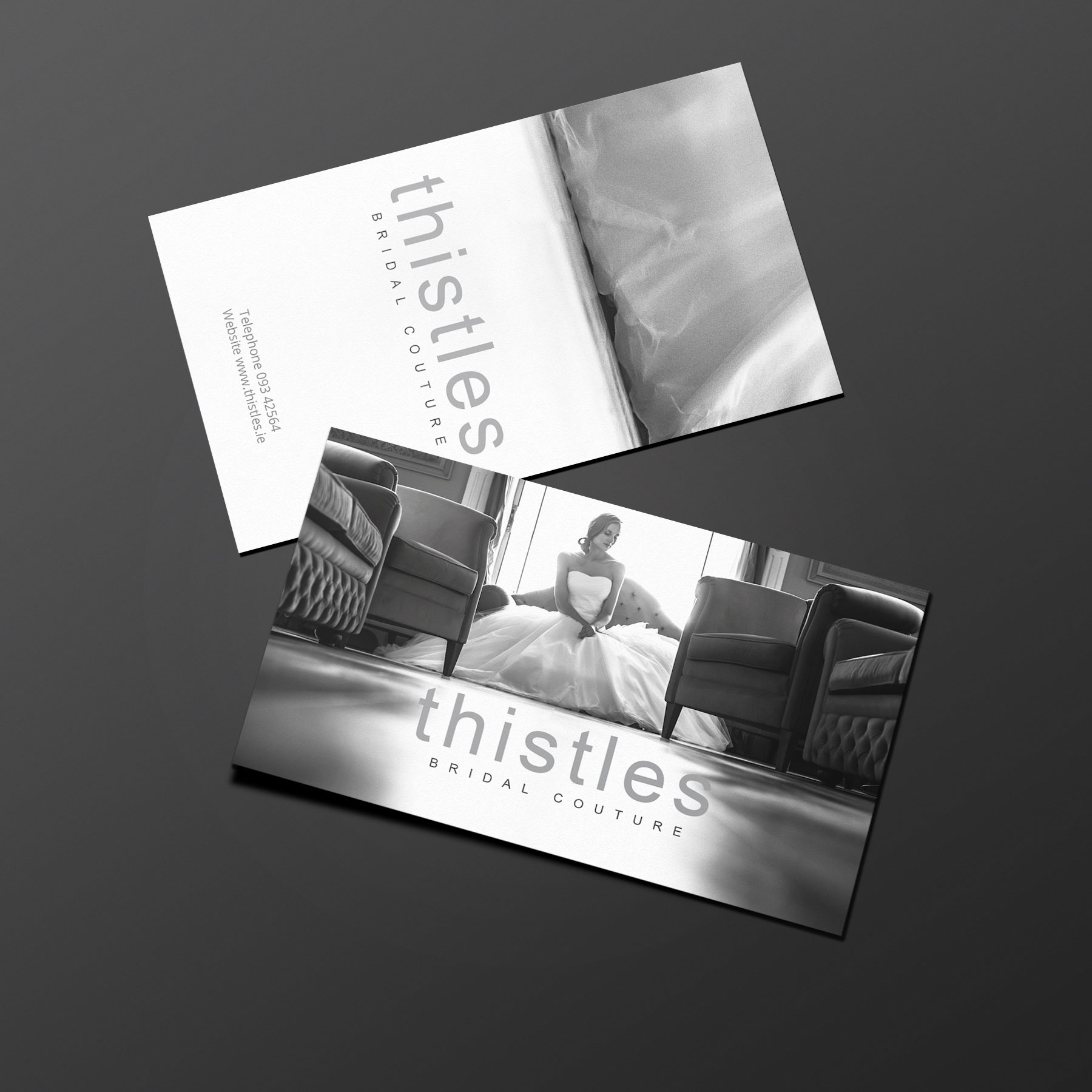 business cards designed by firesky studios